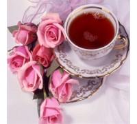 Алмазна вишивка Троянди та чай 30 х 30 см (арт. FS432)