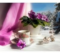 Набор алмазной вышивки Вкусное чаепитие 30 х 40 см (арт. FS462)