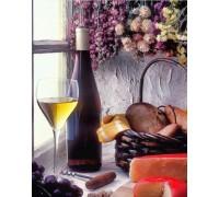 Набор алмазной мозаики Французское вино 40 х 30 см (арт. FS828)