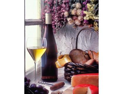 Купить Набор алмазной мозаики Французское вино 40 х 30 см (арт. FS828)