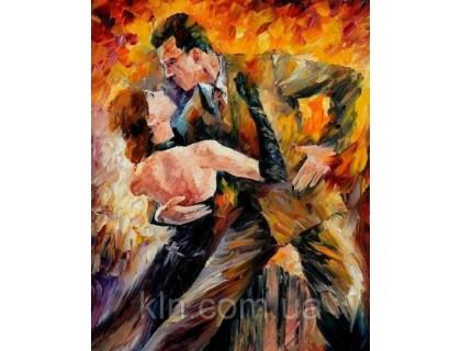 Купить Алмазная вышивка квадратные камни Танец любви 40 х 30 см (арт. FS839)