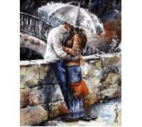 Набор алмазной вышивки Любовь под зонтом 30 х 40 см (арт. FR344)