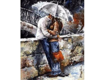 Купить Набор алмазной вышивки Любовь под зонтом 30 х 40 см (арт. FR344)