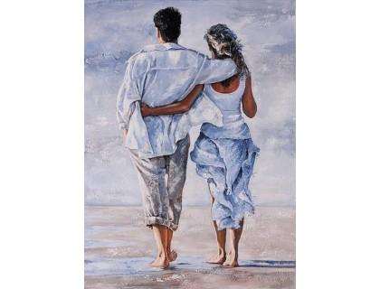 Купить Алмазная живопись набор Счастливы вместе 40 х 55 см (арт. FR514) полная зашивка