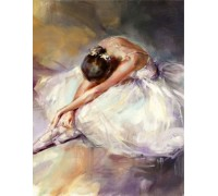 Набор алмазной вышивки Грация юной балерины 30 х 40 см (арт. FR624)
