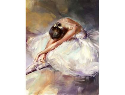 Купить Набор алмазной вышивки Грация юной балерины 30 х 40 см (арт. FR624)