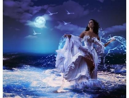 Купить Алмазная вышивка набор Морская принцесса 30 х 40 см (арт. FS243)