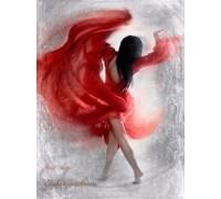 Алмазная вышивка Страстный танец 30 х 40 см (арт. FS360)
