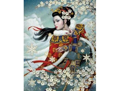 Купить Набор алмазной вышивки Восхитительная японка 40 х 50 см (арт. FS394)