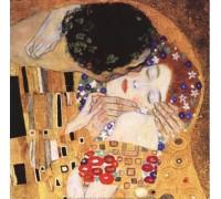 Набор алмазной вышивки Климт. Поцелуй 40 х 40 см (арт. FS395)