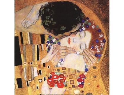 Купить Набор алмазной вышивки Климт. Поцелуй 40 х 40 см (арт. FS395)
