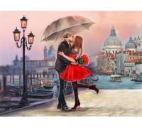 Алмазная вышивка Романтика в Венеции 50*40 см (арт. FS420)