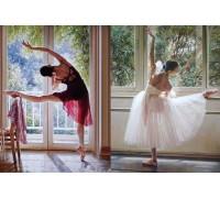 Набор алмазной мозаики Утонченные балерины 50 х 40 см (арт. FS499)