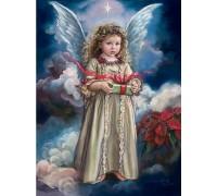Алмазная вышивка Подарок ангела 50*40 см (арт. FS738)