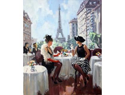 Купить Алмазная вышивка Девушки в Париже 40 х 50 см (арт. FS784)