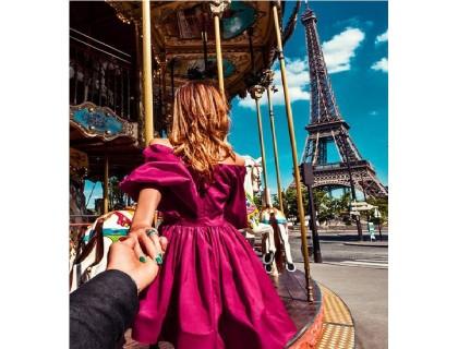 Купить Алмазна мозаїка Follow me Paris 40 х 50 см (арт. FS816)