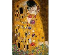 Алмазная вышивка квадратные камни Поцелуй Климт 50 х 60 см (арт. FS911)