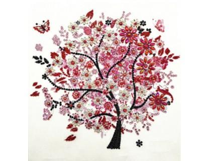 Купить Алмазная мозаика 5D Красивое дерево 24 х 24 см (арт. PR1209)