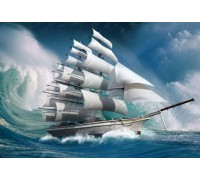 Алмазная вышивка Покоряя океан 40 х 50 см (арт. FS300)