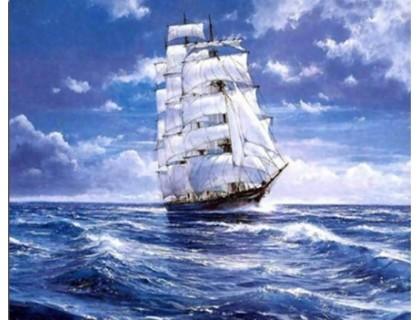 Купить Набор алмазной мозаики Корабль в океане 40 х 30 см (арт. FS365)