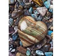 Алмазна вишивка квадратні стрази Подарунок моря 50 х 40 см (арт. FS568)