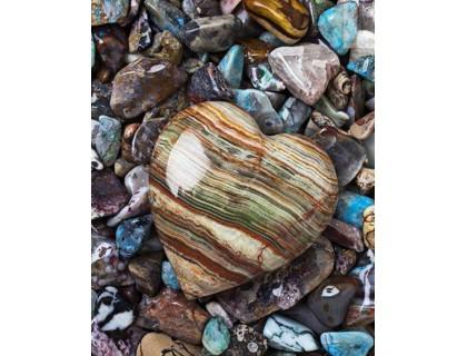 Купить Алмазна вишивка квадратні стрази Подарунок моря 50 х 40 см (арт. FS568)