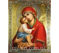 Алмазная вышивка на подрамнике Божья Матерь с Иисусом 40 х 50 см (арт. TN1014)