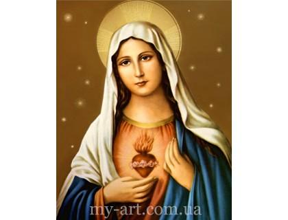 Алмазная мозаика Икона Дева Мария (арт. TN1015)