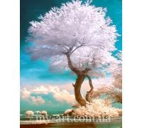 Алмазная вышивка на подрамнике 50 х 40 см Дерево жизни (арт. TN1026)