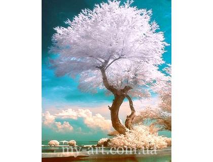 Купить Алмазная вышивка на подрамнике 50 х 40 см Дерево жизни (арт. TN1026)