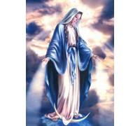 Алмазная вышивка 40 х 50 см на подрамнике Икона Святой Девы Марии (арт. TN901)