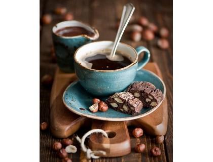 Купить Алмазная вышивка 50 х 40 см на подрамнике Любимый кофейный аромат (арт. TN916)