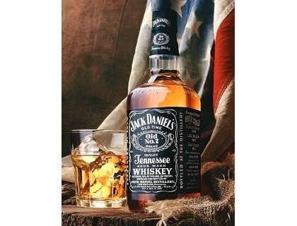 Купить Алмазная вышивка на подрамнике 40 х 50 см Виски Джек Дэниэлс (арт. TN956)