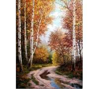 Алмазная вышивка Прекрасный лес 30*40 см (арт. FS001)