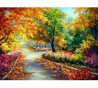 Набор алмазной вышивки Осенние краски 30 х 40 см (арт. FS038)