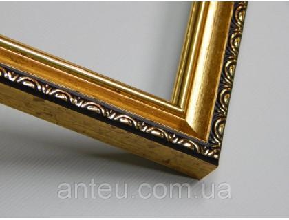 Купить Рамка для картин 30*30 со стеклом, профиль 17 мм (код 1703-3030)
