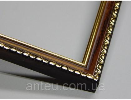Купить Рамка для картин 30*30 со стеклом, профиль 17 мм (код 1706-3030)