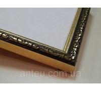 Рамка для картин 30*30 со стеклом, профиль 17 мм (код 171-05-3030)