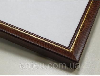Купить Рамка для картин 50*40 со стеклом, профиль 22 мм (код 221-210-5040)