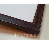Рамка для картин 40*30 со стеклом, профиль 22 мм (код 2246-4030)