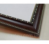 Рамка для картин 50*40 со стеклом, профиль 29 мм (код 2933-5040)