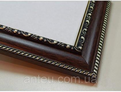 Купить Рамка для картин 50*40 со стеклом, профиль 29 мм (код 2933-5040)