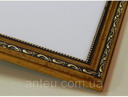 Купить Рамка для картин 50*40 со стеклом, профиль 25 мм (код OD259-5040)