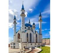 Алмазная вышивка Величественная Мечеть 40 х 50 см (арт. FS1226)