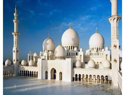 Алмазная вышивка Белая Мечеть