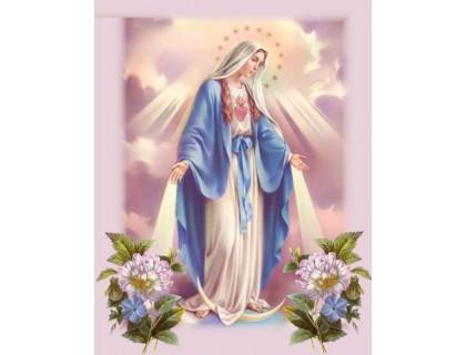Купить Алмазная вышивка квадратные камни Благословение небес 40 х 50 см (арт. FS850)