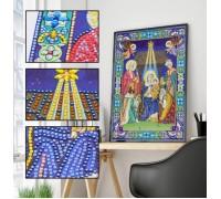 Алмазная мозаика 5D Святые небеса 34 х 24 см (арт. PR1202)