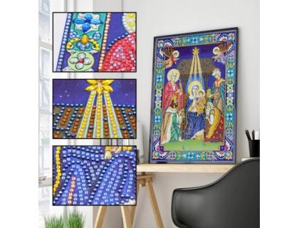 Купить Алмазная мозаика 5D Святые небеса 34 х 24 см (арт. PR1202)