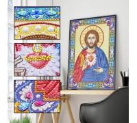 Алмазная мозаика 5D Господь Наш 34 х 24 см (арт. PR1203)