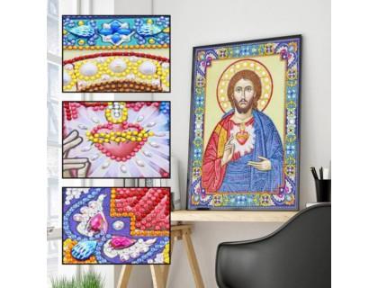 Купить Алмазная мозаика 5D Господь Наш 34 х 24 см (арт. PR1203)